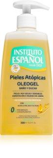Instituto Español Atopic Skin gel nettoyant à base d'huile