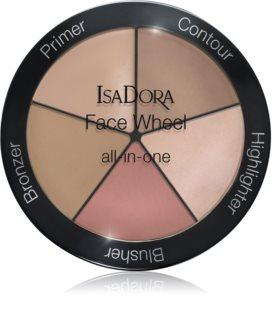 IsaDora Face Wheel мултифункционална палитра за лице