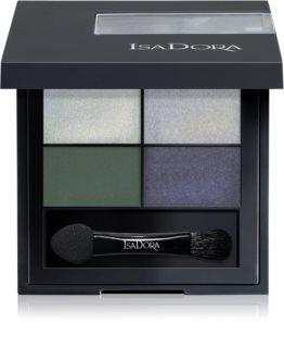 IsaDora Eye Shadow Quartet Luomiväri Paletti