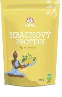 ISWARI Hrachový protein 80% proteinový prášek k přípravě nápoje pro stavbu svalové hmoty