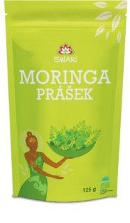 ISWARI Moringa prášek k přípravě nápoje s vysokým obsahem vlákniny, vitamínů, proteinů a minerálních látek