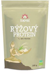 ISWARI Rýžový protein  80% proteinový prášek k přípravě nápoje s bohatým obsahem bílkovin s výbornou stravitelností