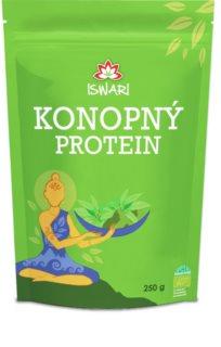 ISWARI Konopný protein prášek na přípravku nápoe pro podporu tvorby svalové hmoty