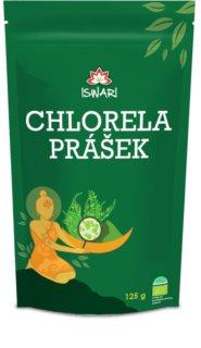 ISWARI Chlorella 100% bio chlorella prášek k přípravě nápoje s komplexem živin, vitamínů a minerálů