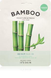 It´s Skin The Fresh Mask Bamboo Zellschichtmaske mit beruhigender Wirkung für zarte Haut