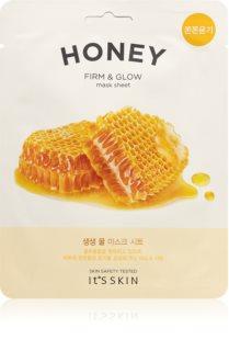 It´s Skin The Fresh Mask Honey Aufhellende Tuchmaske mit festigender Wirkung