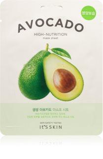 It´s Skin The Fresh Mask Avocado Zellschichtmaske mit besonders feuchtigkeitsspendender und nährender Wirkung