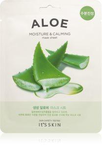 It´s Skin The Fresh Mask Aloe Beruhigende Tuchmaske mit feuchtigkeitsspendender Wirkung