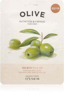 It´s Skin The Fresh Mask Olive Nährende Tuchmaske mit Auszügen aus Oliven