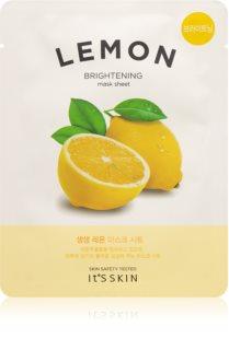 It´s Skin The Fresh Mask Lemon Aufhellende Tuchmaske
