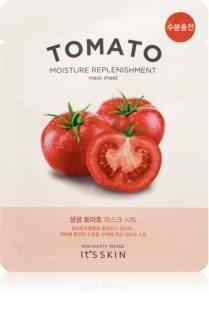 It´s Skin The Fresh Mask Tomato Zellschichtmaske mit feuchtigkeitsspendender und glättender Wirkung