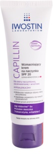 Iwostin Capillin лек подсилващ крем за спукани капилярчета SPF 20