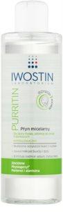 Iwostin Purritin мицеларна почистваща вода за мазна кожа склонна към акне