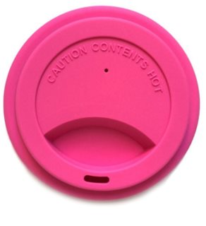 Jack N' Jill Silicone Cup Lid víčko na kelímek Pink
