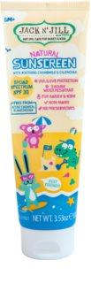 Jack N' Jill Natural Sunscreen crema abbronzante per bambini SPF 30