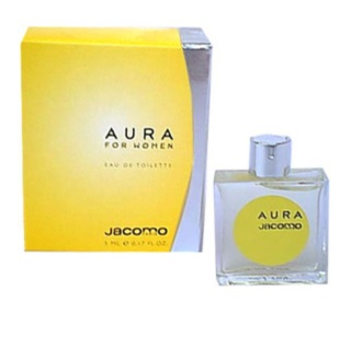 Jacomo Aura Women eau de toilette sample for Women