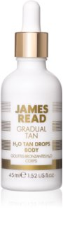 James Read Gradual Tan H2O Tan Drops Self-Tanning Drops for Body