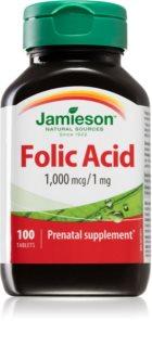 Jamieson Kyselina listová 1000 mcg doplněk stravy  pro těhotné ženy