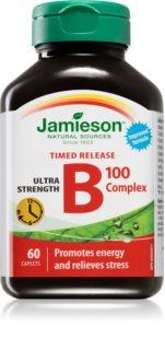 Jamieson B-komplex s postupným uvolňováním 100 mg komplex vitamínů B