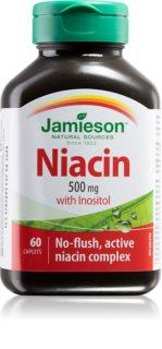 Jamieson Niacin 500 mg doplněk stravy  pro podporu fyzického a duševního zdraví