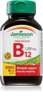 Jamieson Vitamín B12 1200mcg duševní pohoda a posílení imunity