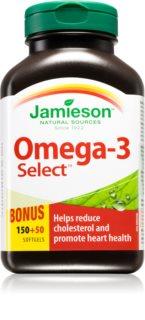 Jamieson Omega-3 Select podpora normálního stavu zraku a činnosti mozku