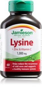 Jamieson Lysin + Zinc & Vitamin C 1000 mg