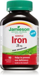 Jamieson Železo 28 mg doplněk stravy pro podporu tvorby červených krvinek