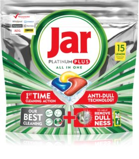 Jar All in One Platinum Plus cápsulas para lavavajillas