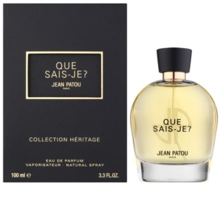 Jean Patou Que Sais-Je eau de toilette for Women
