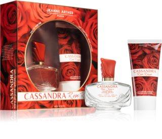 Jeanne Arthes Cassandra Rose Rouge darčeková sada pre ženy