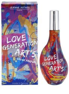 Jeanne Arthes Love Generation Art's eau de parfum para mulheres