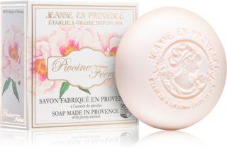 Jeanne en Provence Pivoine Féerie парфюмированное мыло для женщин