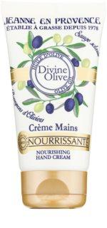 Jeanne en Provence Divine Olive krema za roke z hranilnim učinkom