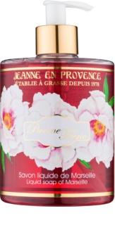 Jeanne en Provence Pivoine Féerie tekuté mýdlo na ruce pivoňka