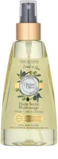 Jeanne en Provence Olive Dry Oil for Face, Body and Hair