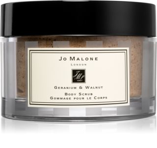 Jo Malone Geranium & Walnut testápoló peeling