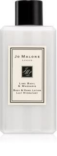 Jo Malone Lime Basil & Mandarin hedvábné tělové mléko