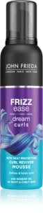 John Frieda Frizz Ease Dream Curls hajtőemelő hab göndör hajra