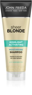 John Frieda Sheer Blonde Highlight Activating Fuktgivande schampo för blont hår