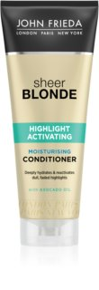 John Frieda Sheer Blonde Highlight Activating balsam hidratant pentru par blond