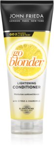 John Frieda Sheer Blonde Go Blonder balsam decolorant pentru par blond