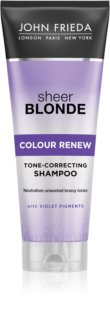 John Frieda Sheer Blonde Colour Renew Toningsschampo  för blont hår