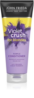 John Frieda Sheer Blonde Violet Crush tonizáló kondicionáló szőke hajra