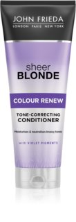 John Frieda Sheer Blonde Colour Renew acondicionador tonificante para cabello rubio