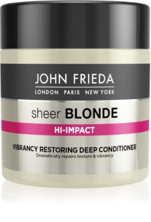 John Frieda Sheer Blonde Flawless Recovery après-shampoing régénérateur en profondeur pour cheveux blonds et méchés
