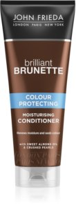 John Frieda Brilliant Brunette Colour Protecting après-shampoing hydratant