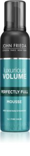 John Frieda Luxurious Volume Perfectly Full espuma fijadora