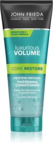 John Frieda Luxurious Volume Core Restore Conditioner für mehr Volumen bei feinem Haar