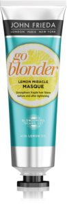 John Frieda Sheer Blonde Go Blonder masque pour cheveux blonds